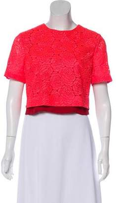 A.L.C. Floral Pattern Lace Top