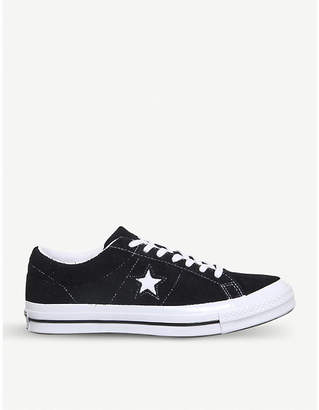 Converse One Star low-top trainers