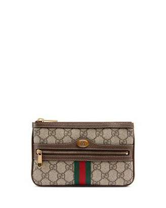 Gucci Ophidia Small GG Supreme Pouch Clutch Bag