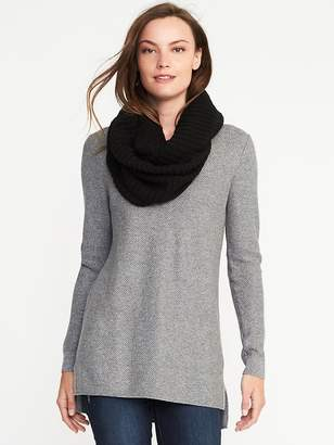Old Navy Lightweight Rib-Knit Infinity Scarf