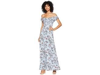 Olive + Oak Olive & Oak Flori Maxi Dress Women's Dress
