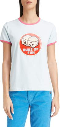 Marc Jacobs THE Buns of Fun Ringer Tee