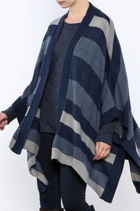 BB Dakota Oversized Stripe Cardigan