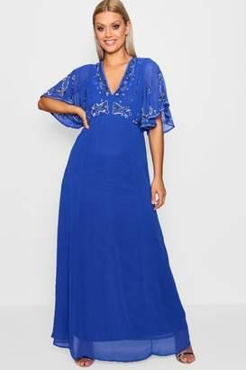 boohoo Plus Boutique Embellished Sequin Maxi Dress