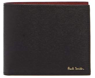 Paul Smith Bi Fold Leather Wallet - Mens - Black