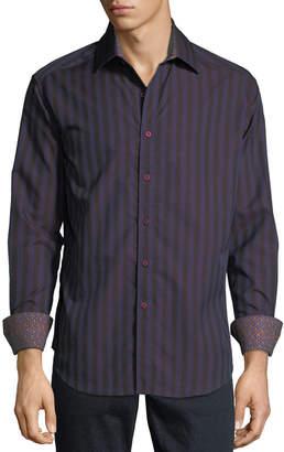 Robert Graham Men's Fort Crown Woven Shirt