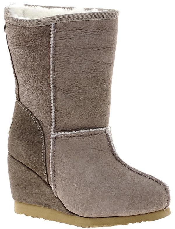 Love From Australia Zip Short Wedge Boots