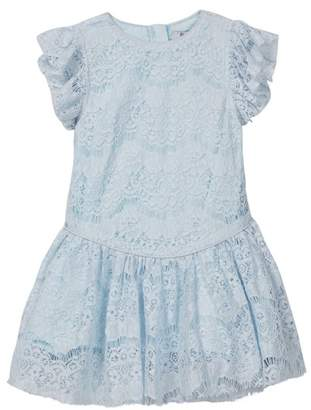 Couture Frenchie Mini Sporty Lace Ruffle Dress (Toddler, Little Girls, & Big Girls)