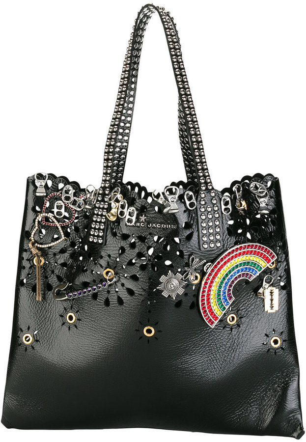Marc Jacobs Marc Jacobs embellished Wingman shoulder bag
