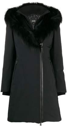 Mackage fur-trimmed collar down coat