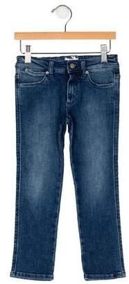 Acne Studios Girls' Four Pocket Jeans