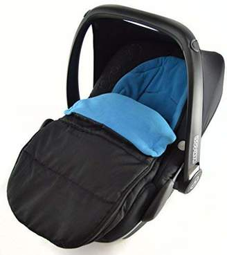 Stokke Car Seat Footmuff/Cosy Toes Compatible with New Born Car seat Ocean Blue