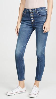 Veronica Beard Jean Debbie High Rise Skinny Long Jeans