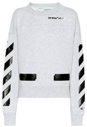 Off-White X Champion printed sweatshirt