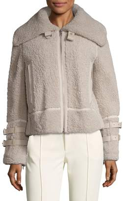 IRO Women's Kerry Lamb Shearling Coat