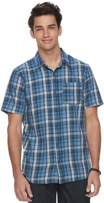 Vans Men's Plaid Button-Down Shirt