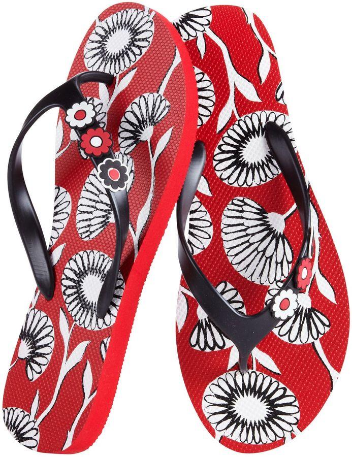 Vera Bradley Printed Flip Flops