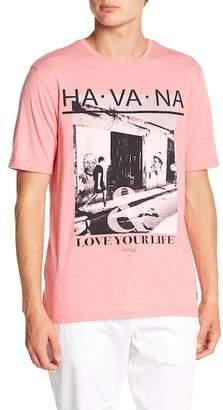 Report Collection Havana Print Crew Neck Tee