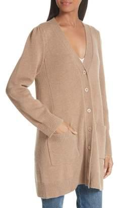 Co Essentials Wool & Cashmere Boyfriend Cardigan