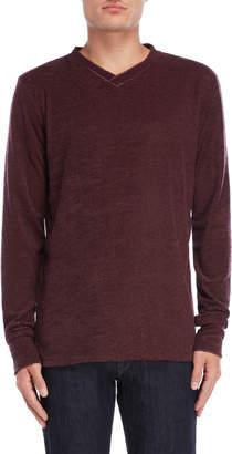 Stereo V-Neck Pullover