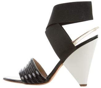 Proenza Schouler Leather Slingback Sandals