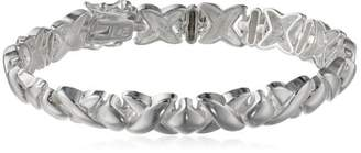 XOXO Sterling Silver Hugs and Kisses Bracelet