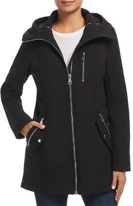 Calvin Klein Zip-Front Trench Coat