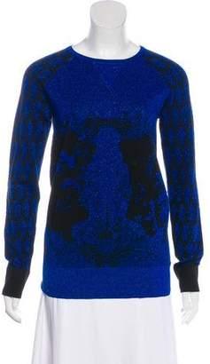 Prabal Gurung Metallic Wool Sweater