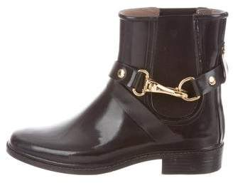 Burberry Rubber Ankle Boots