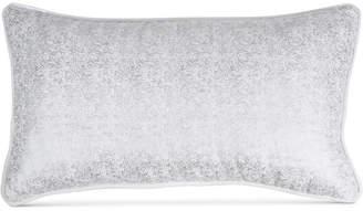 "Donna Karan Home Motion Metallic Velvet 11"" x 22"" Decorative Pillow Bedding"