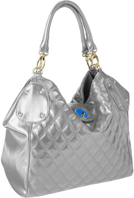 Women's Quilted Faux-Leather Satchels