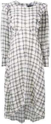 Isabel Marant check print dress