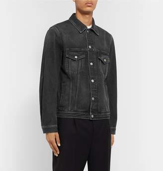 Givenchy Logo-Print Denim Jacket