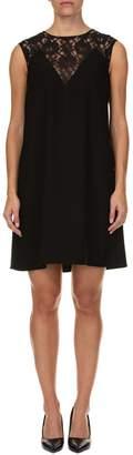 Blugirl Lace Inserts Midi Dress