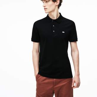 Lacoste Men's Slim fit Polo Shirt in stretch petit pique