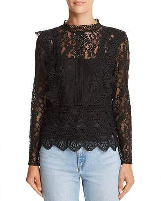 Lucy Paris Alexandra Lace Top