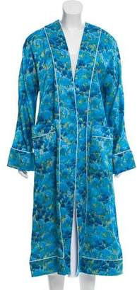 Marina Moscone Silk Oversize Jacket