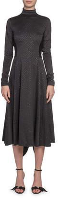 Marc Jacobs High-Neck Glittered Dress