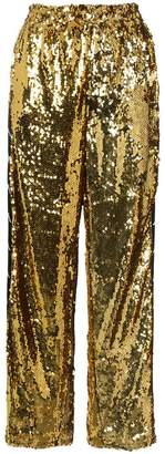 Faith Connexion Sequinned track trousers