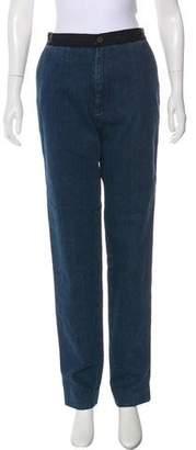 Lanvin High-Rise Straight-Leg Jeans