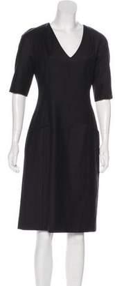 Chaiken Wool Midi Dress