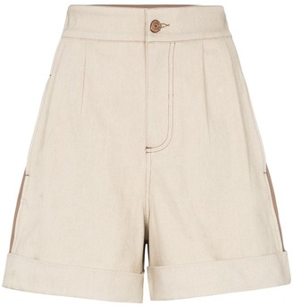 See by Chloe two-tone shorts