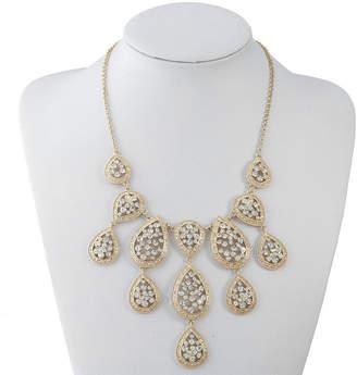 clear MONET JEWELRY Monet Jewelry Womens Statement Necklace