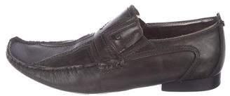 Mark Nason Leather Square-Toe Loafers