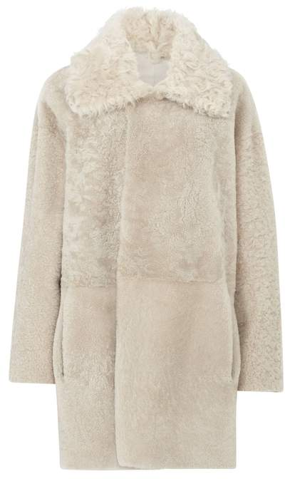 Gushlow & Cole Relaxed Fit Shearling Coat