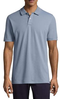 Arizona Short Sleeve Knit Flex Polo Shirt