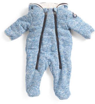 Newborn Sweater Fleece Bunting
