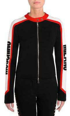 Moschino Racecar Logo Sweater