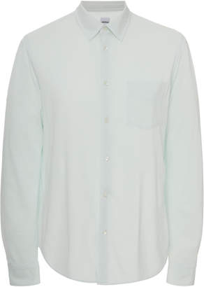 Aspesi Cotton-Jersey Button-Up Shirt