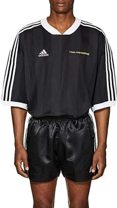 Gosha Rubchinskiy X adidas Men's Shadow Stripe Athletic T-Shirt
